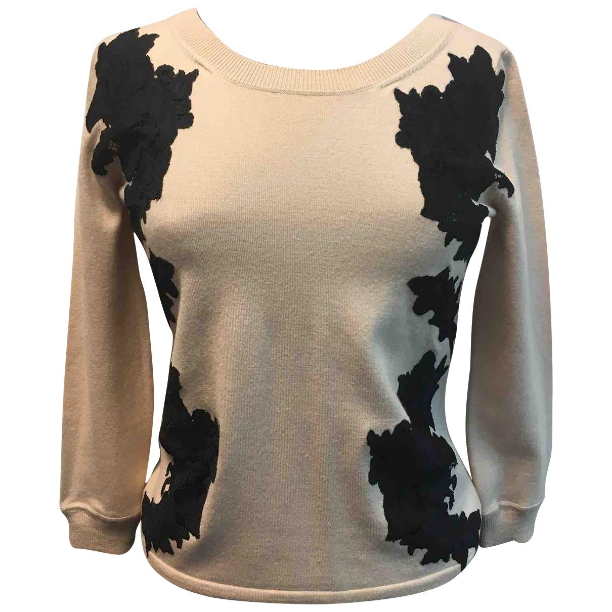 Diane Von Furstenberg \N Pullover in  Beige Wolle