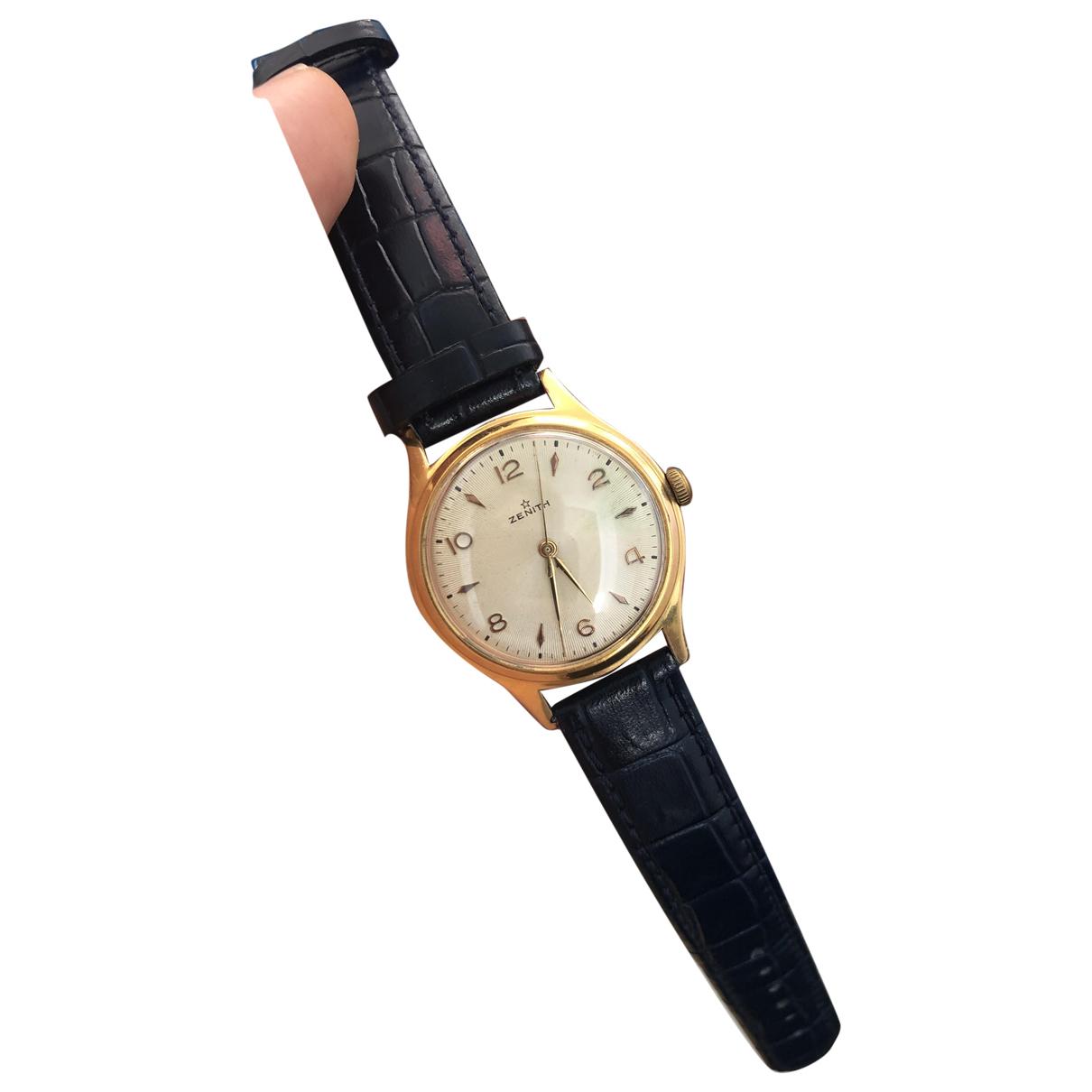 Zenith \N Uhr in  Gold Vergoldet