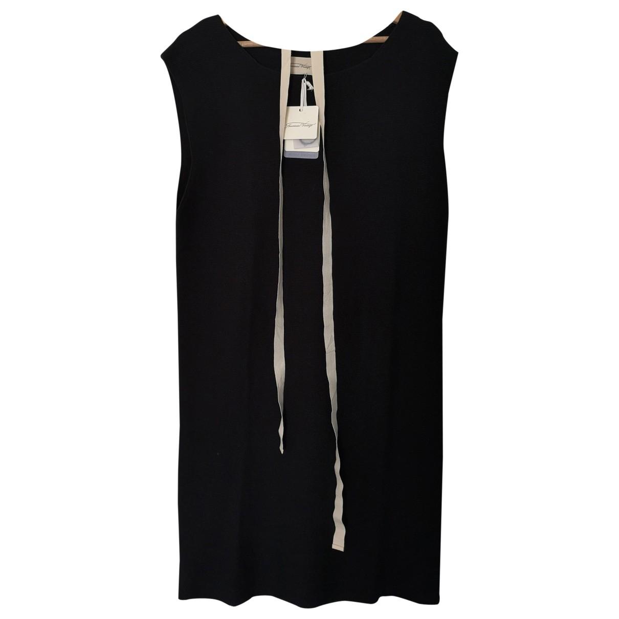 American Vintage \N Kleid in  Schwarz Baumwolle