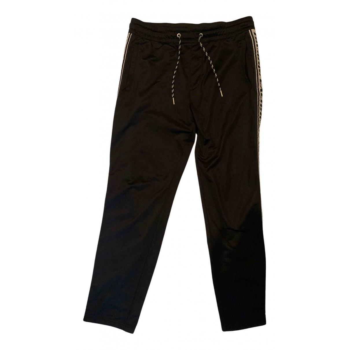 Emporio Armani N Black Trousers for Men M International