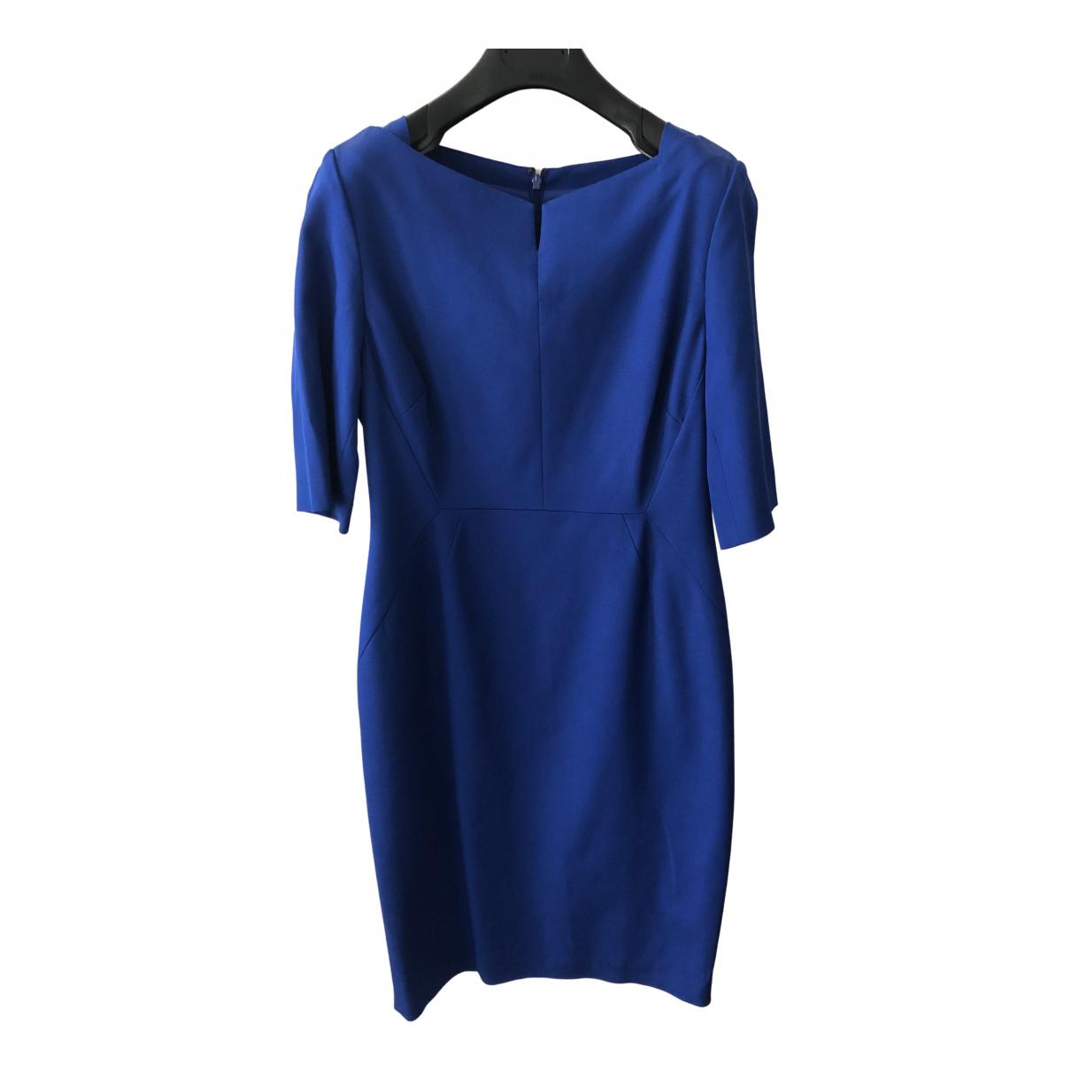 Lk Bennett \N Kleid in  Blau Viskose