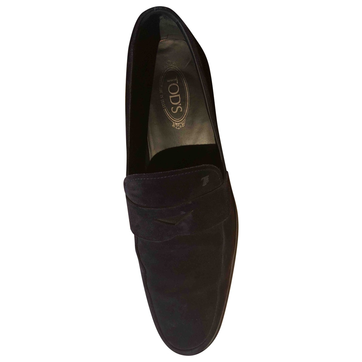 Tod's \N Blue Suede Flats for Men 12 UK