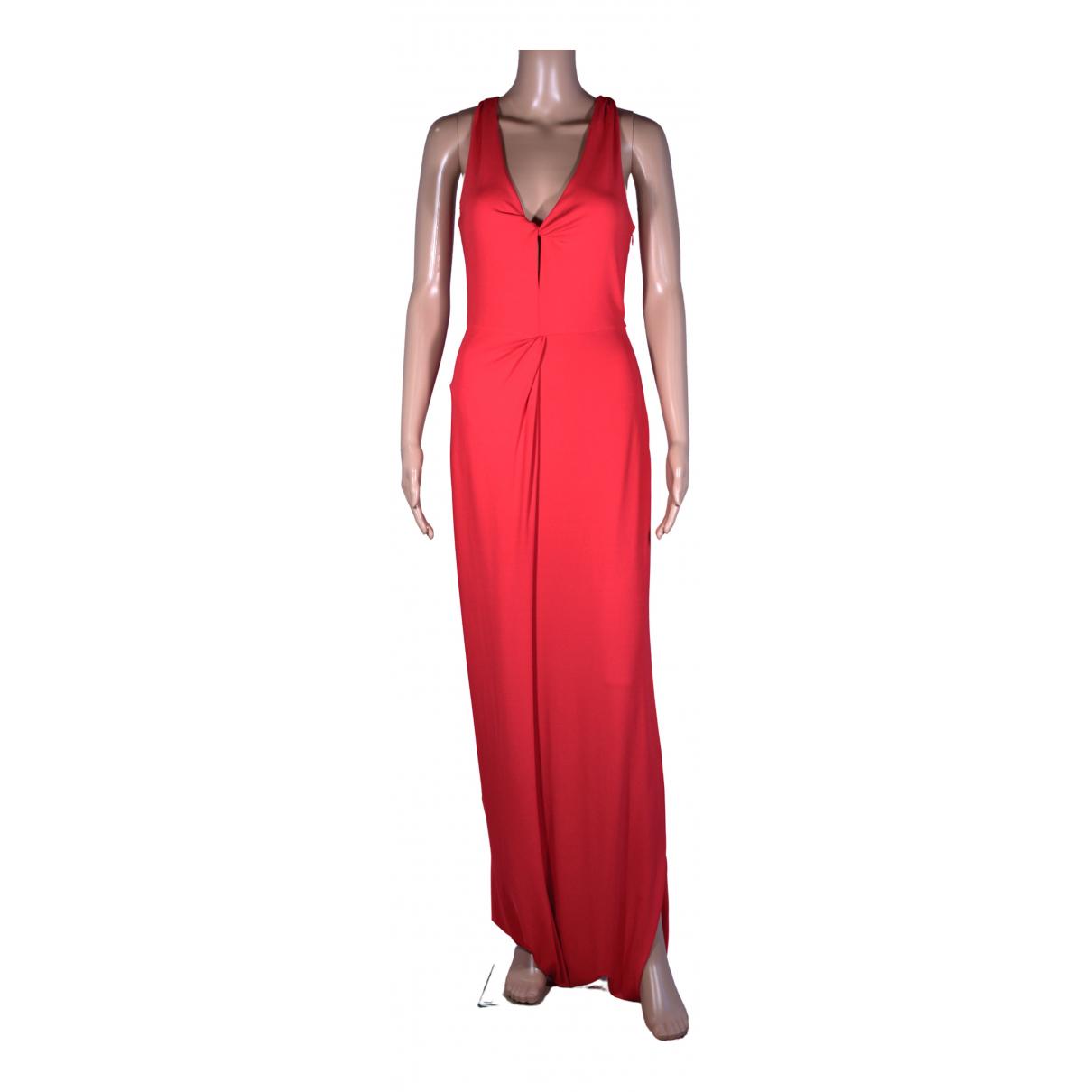Giorgio Armani \N Kleid in  Rot Viskose