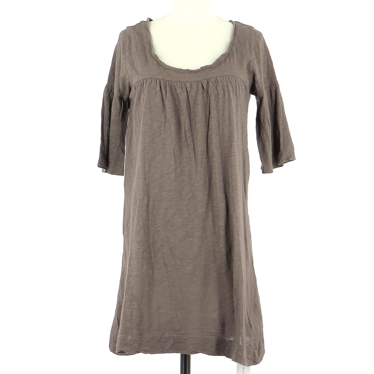 American Vintage \N Kleid in  Grau Baumwolle