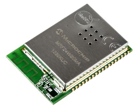 Microchip WiFi Transceiver Module with PCB antenna