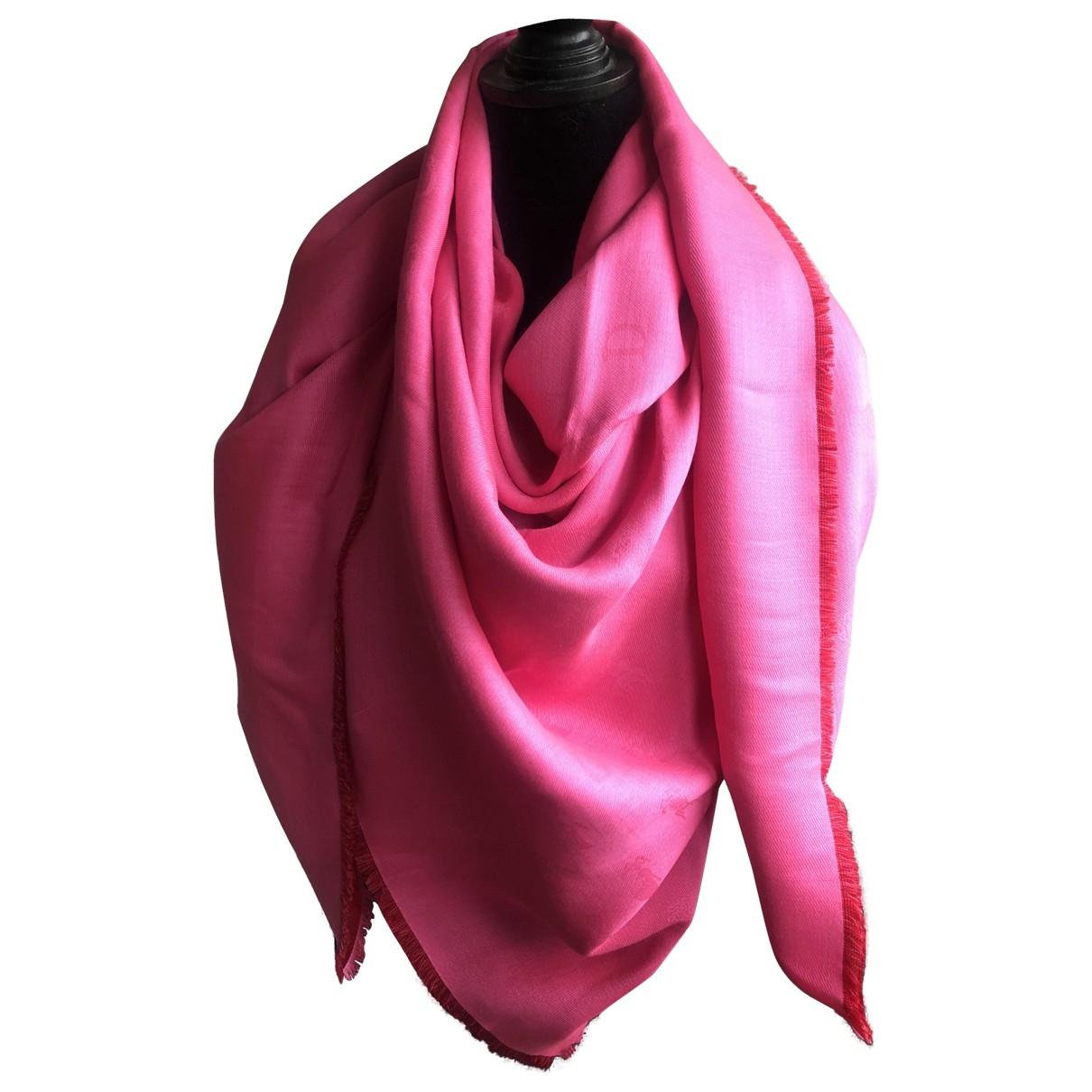 Dior - Foulard   pour femme - rose