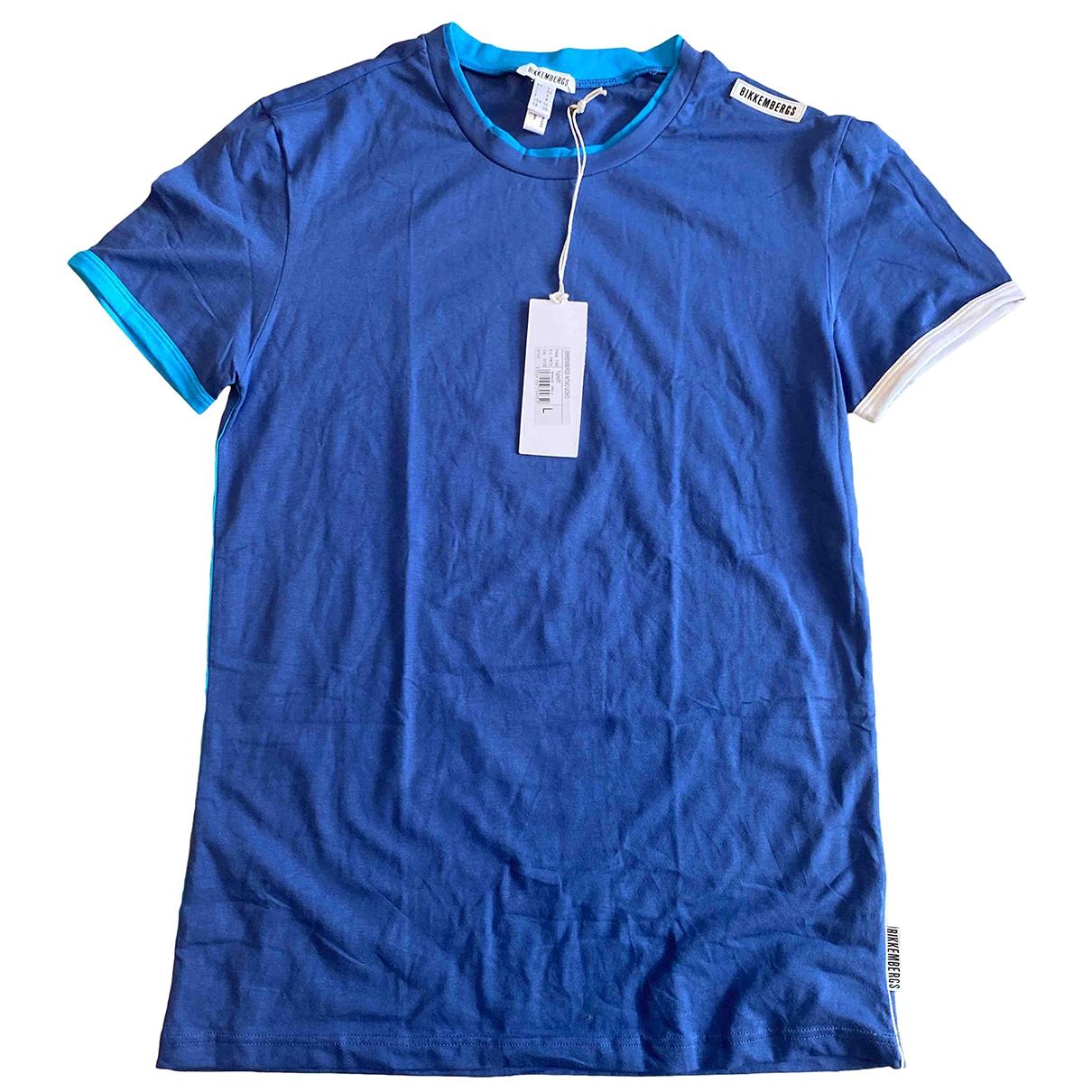 Dirk Bikkembergs \N Blue Cotton T-shirts for Men L International