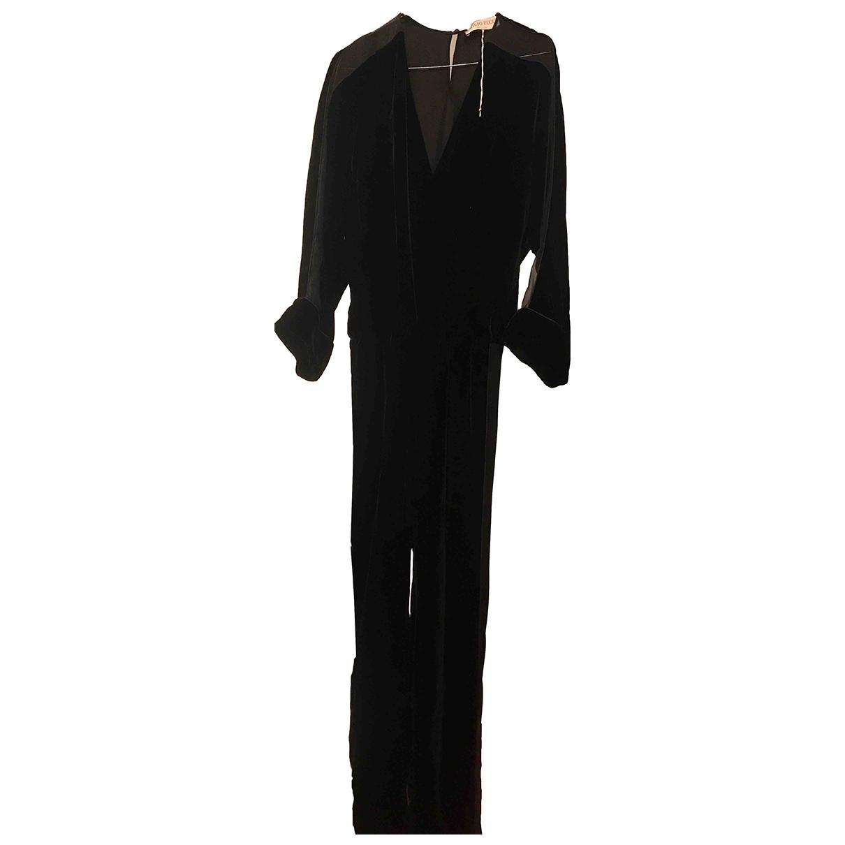 Emilio Pucci - Combinaison   pour femme en velours - noir