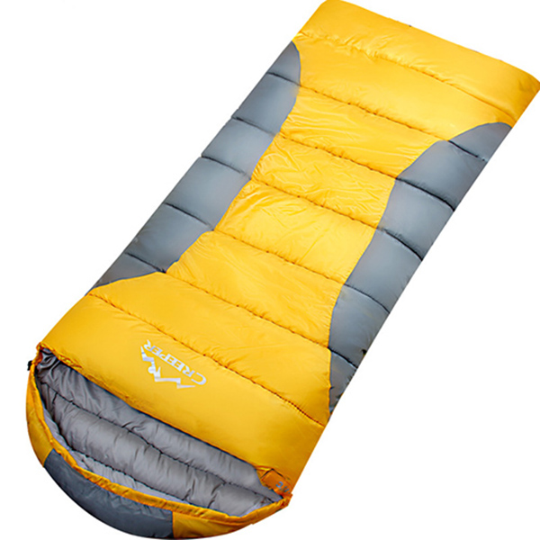 Attachable Ultra Light Camping Hiking Traveling Tapered Envelope Sleeping Bag