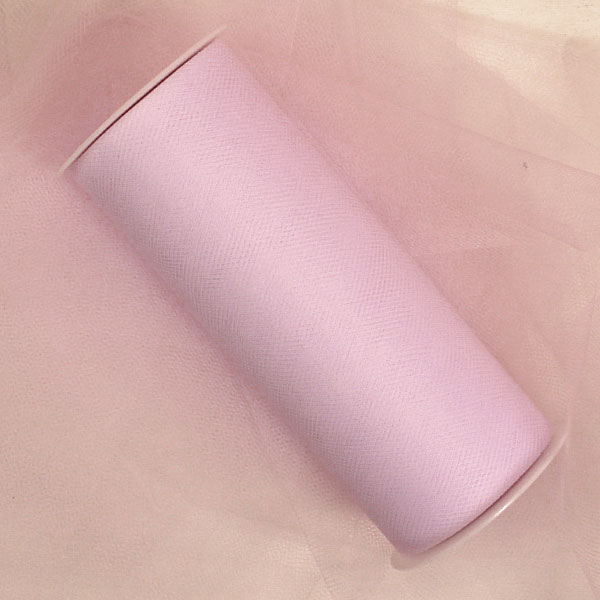 Fabric Cloth Very Light Pink Tulle 3