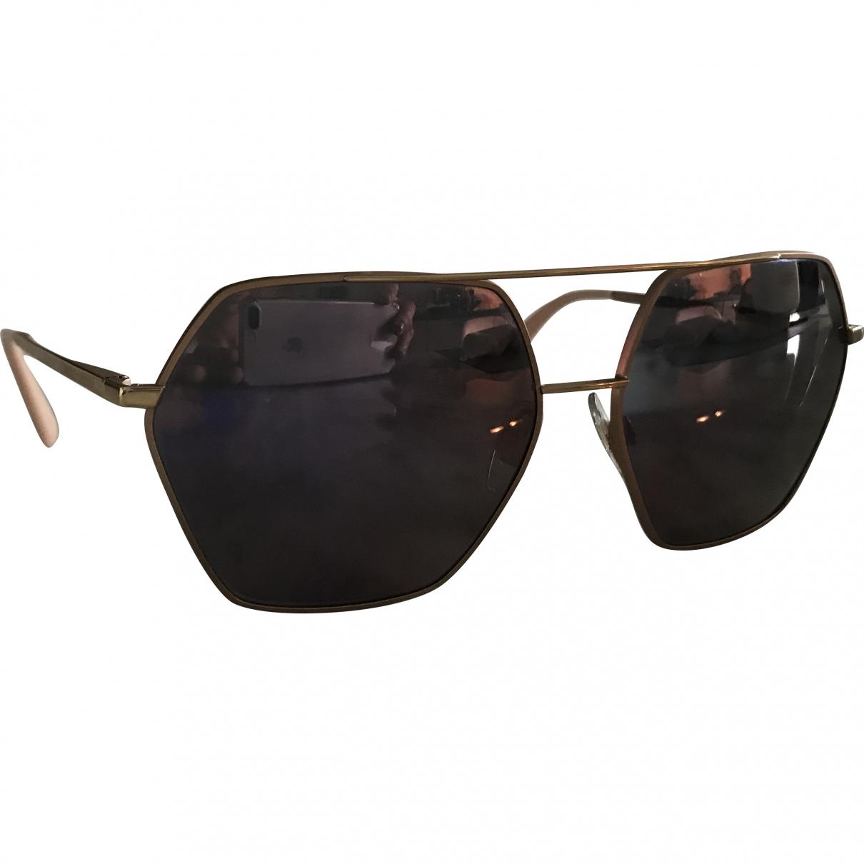 Dolce & Gabbana \N Pink Metal Sunglasses for Women \N