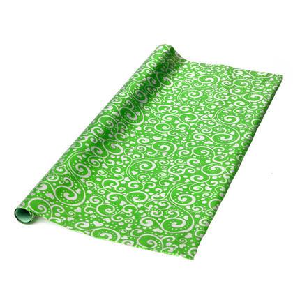 Rouleau de papier cadeau imprimé floral 27.5