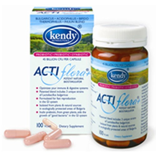 Actiflora Plus Prebiotic Probiotic 100 CAP by Kendy USA