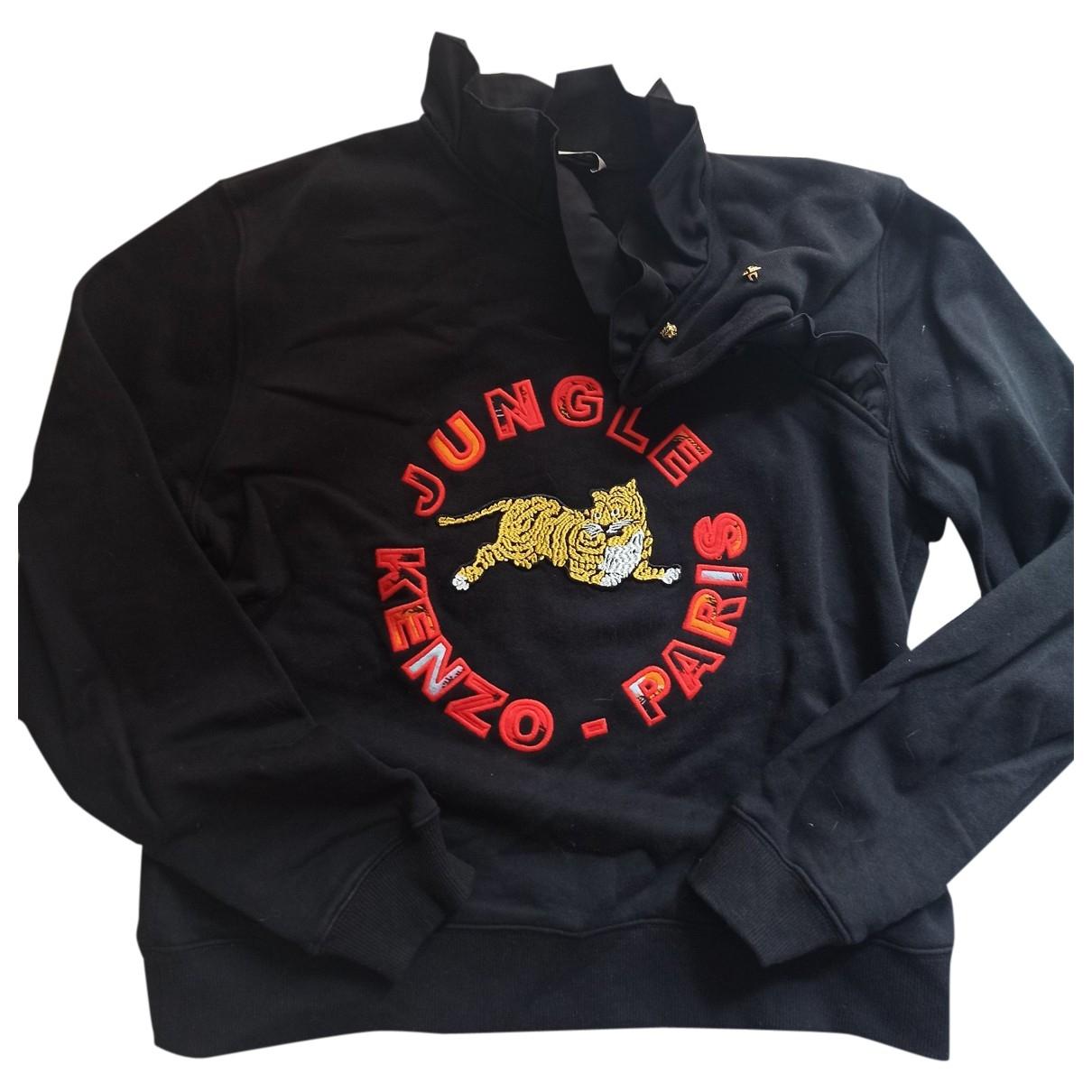 Kenzo X H&m - Pull   pour femme en coton - noir