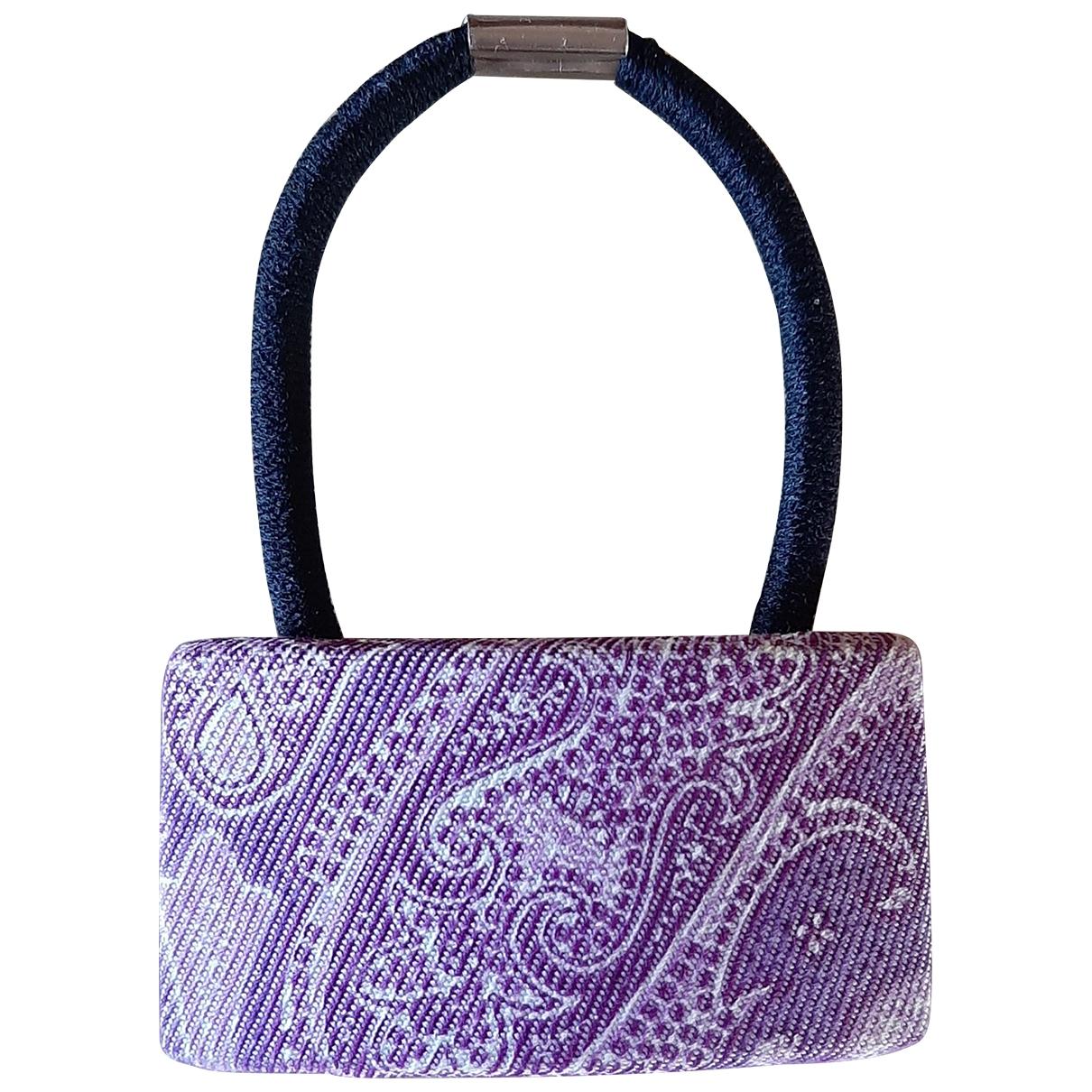 Etro \N Purple Cloth Hair accessories for Women \N