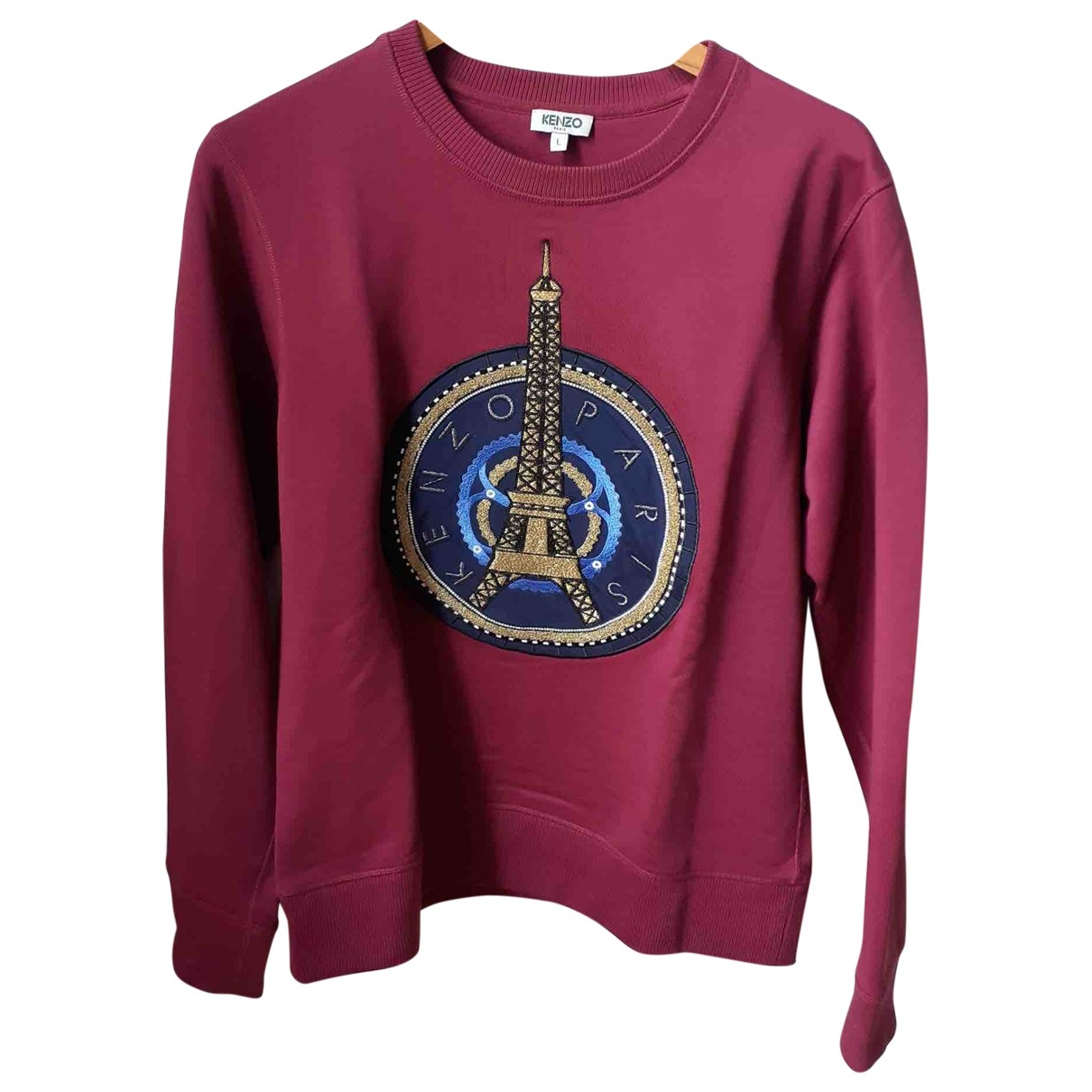 Kenzo \N Burgundy Cotton Knitwear & Sweatshirts for Men M International