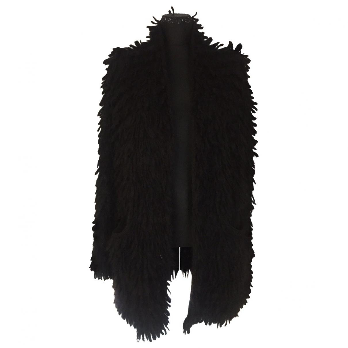 Lost & Found Ria Dunn - Pull   pour femme en laine - noir