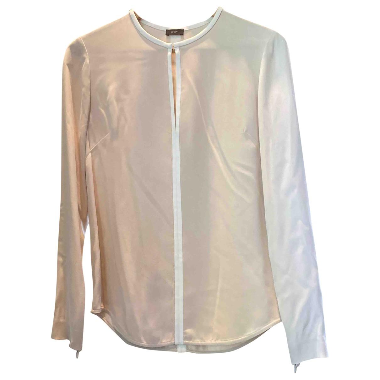 Joseph \N Beige Silk  top for Women 38 FR