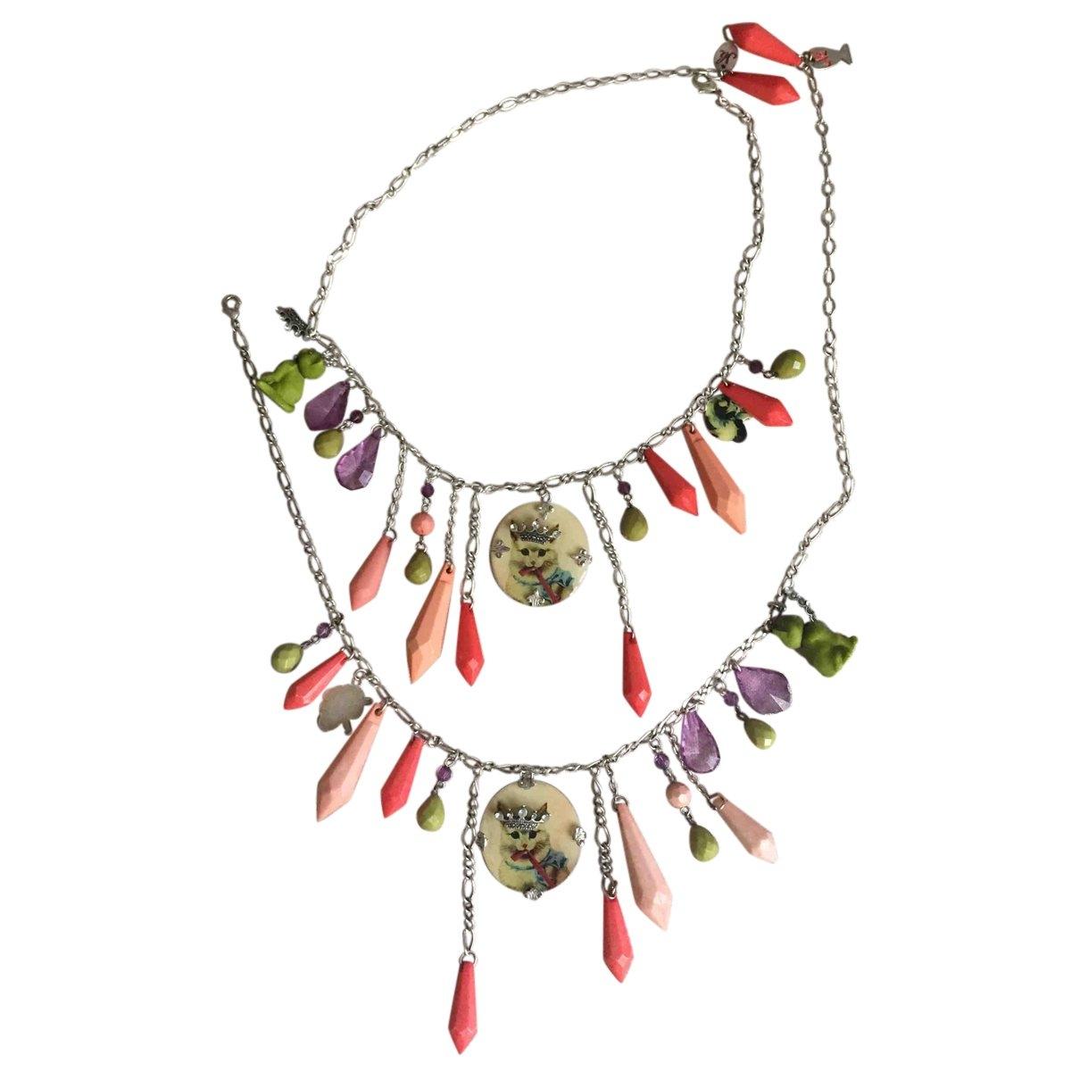 Les Nereides - Collier   pour femme en metal - multicolore