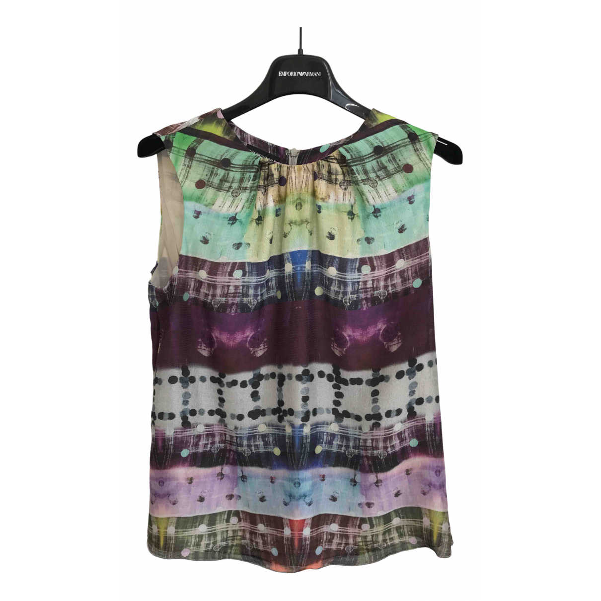 Emporio Armani N Multicolour Silk  top for Women 44 IT