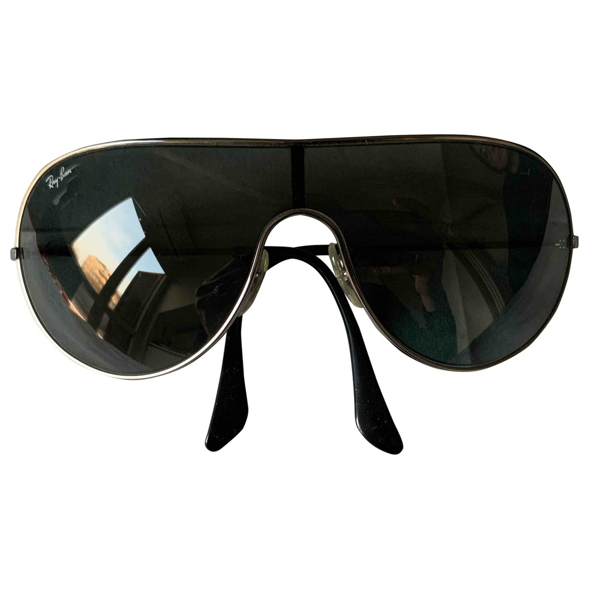 Ray-ban \N Anthracite Metal Sunglasses for Women \N