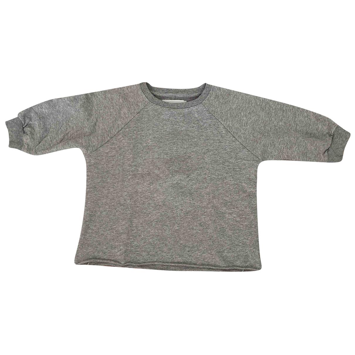 Gaelle Paris - Pull   pour enfant en coton - gris