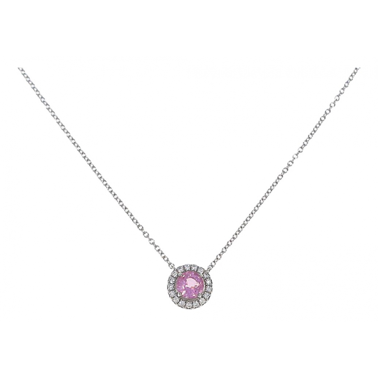 Tiffany & Co \N White gold necklace for Women \N