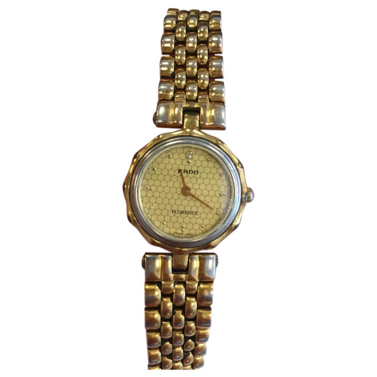 Rado \N Uhr in  Gold Stahl