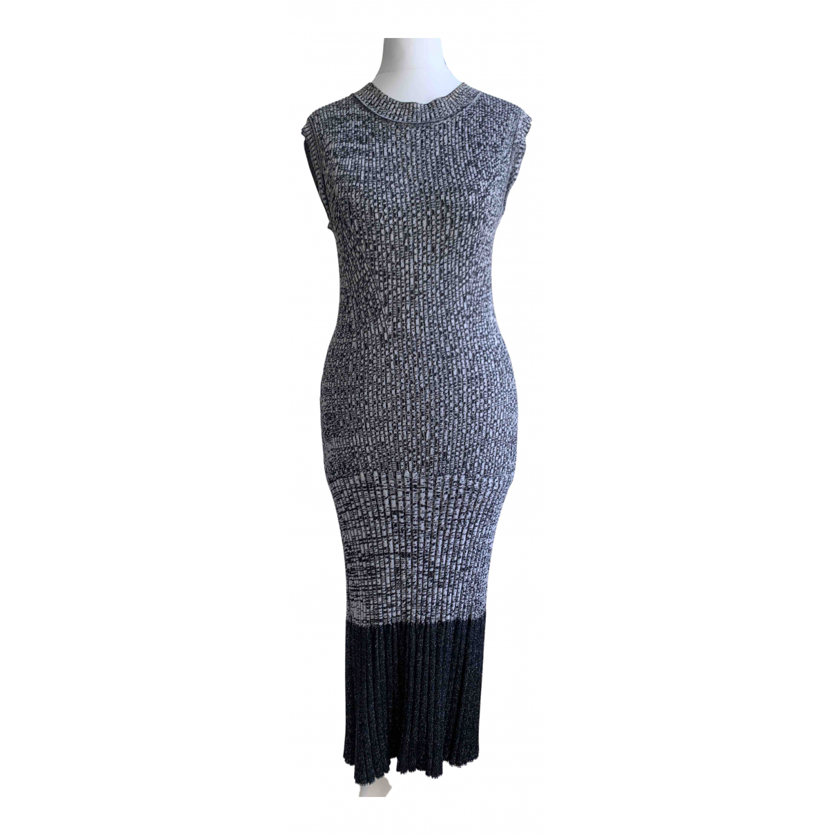 Rachel Comey \N Kleid in  Grau Viskose