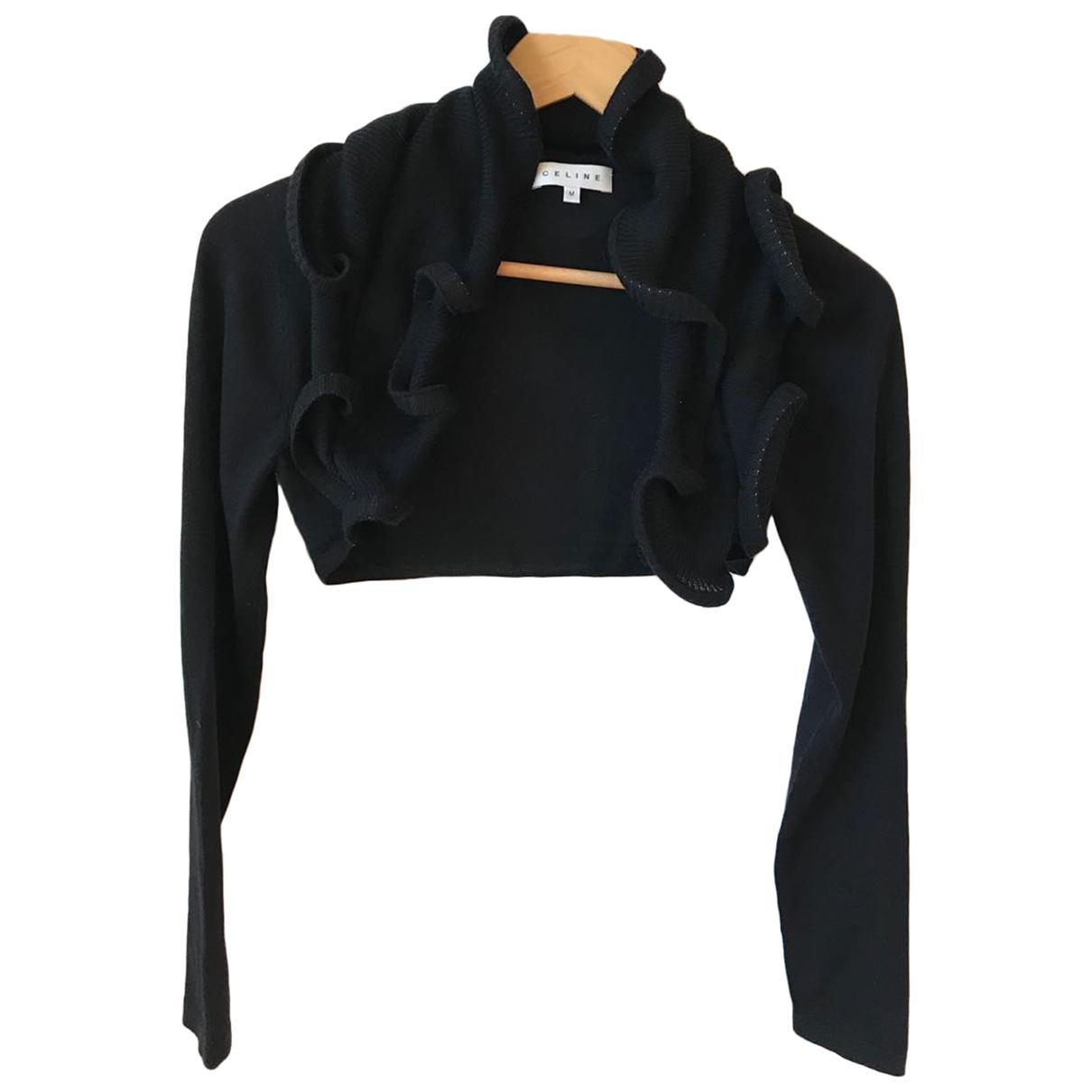 Celine N Black Wool Knitwear for Women M International