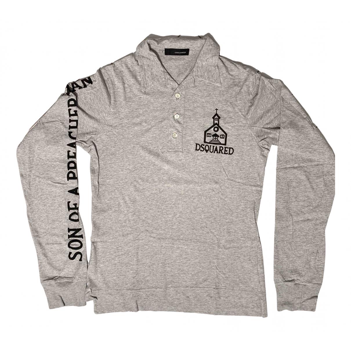 Dsquared2 \N Poloshirts in  Grau Baumwolle