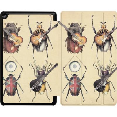Amazon Fire HD 8 (2017) Tablet Smart Case - Meet The Beetles von Eric Fan