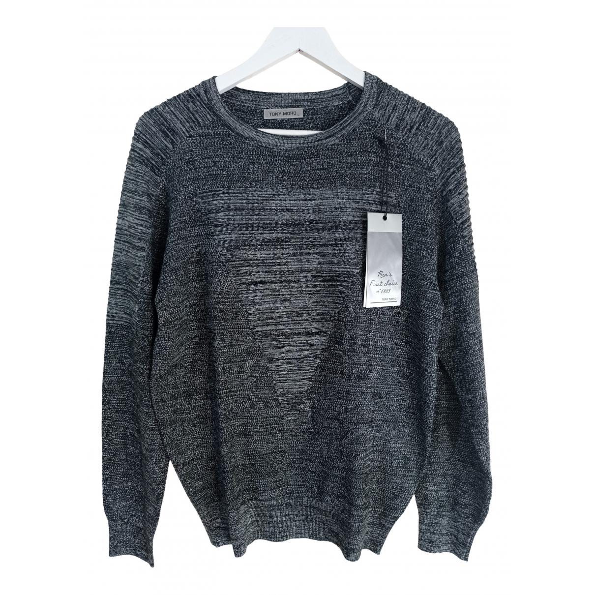 Non Signé / Unsigned \N Grey Knitwear & Sweatshirts for Men L International