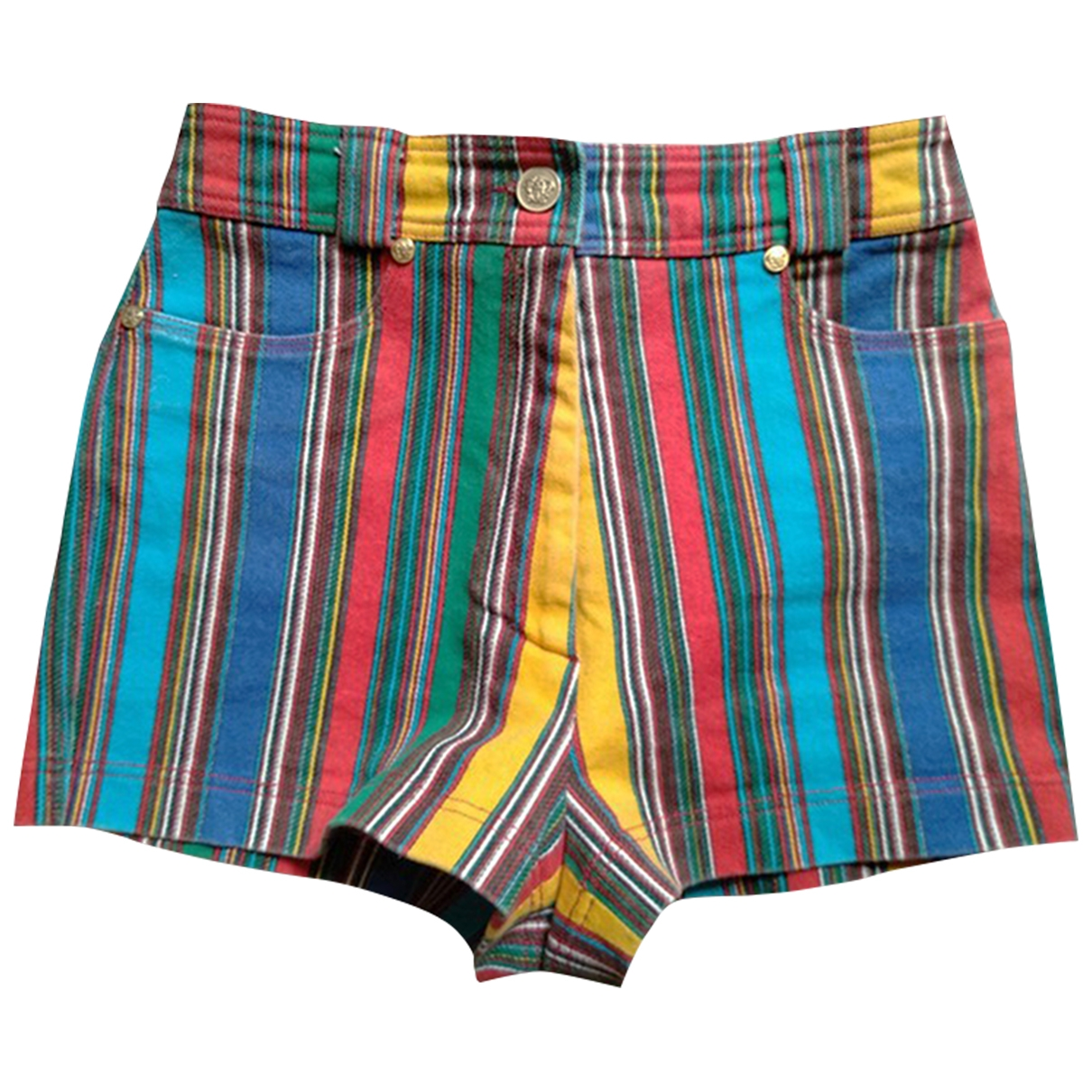 Gianni Versace - Short   pour femme en coton