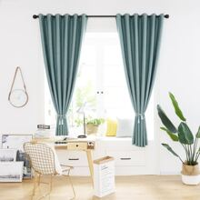 1pc Plain Blackout Curtain