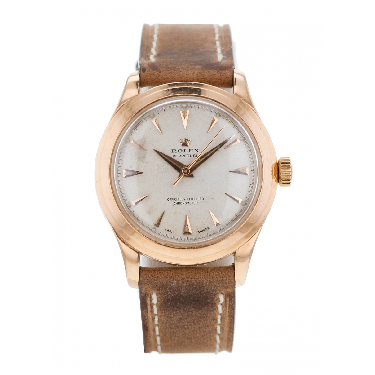 Rolex \N Pink gold watch for Men \N
