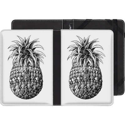 Kobo Glo HD eBook Reader Huelle - Ornate Pineapple von BIOWORKZ