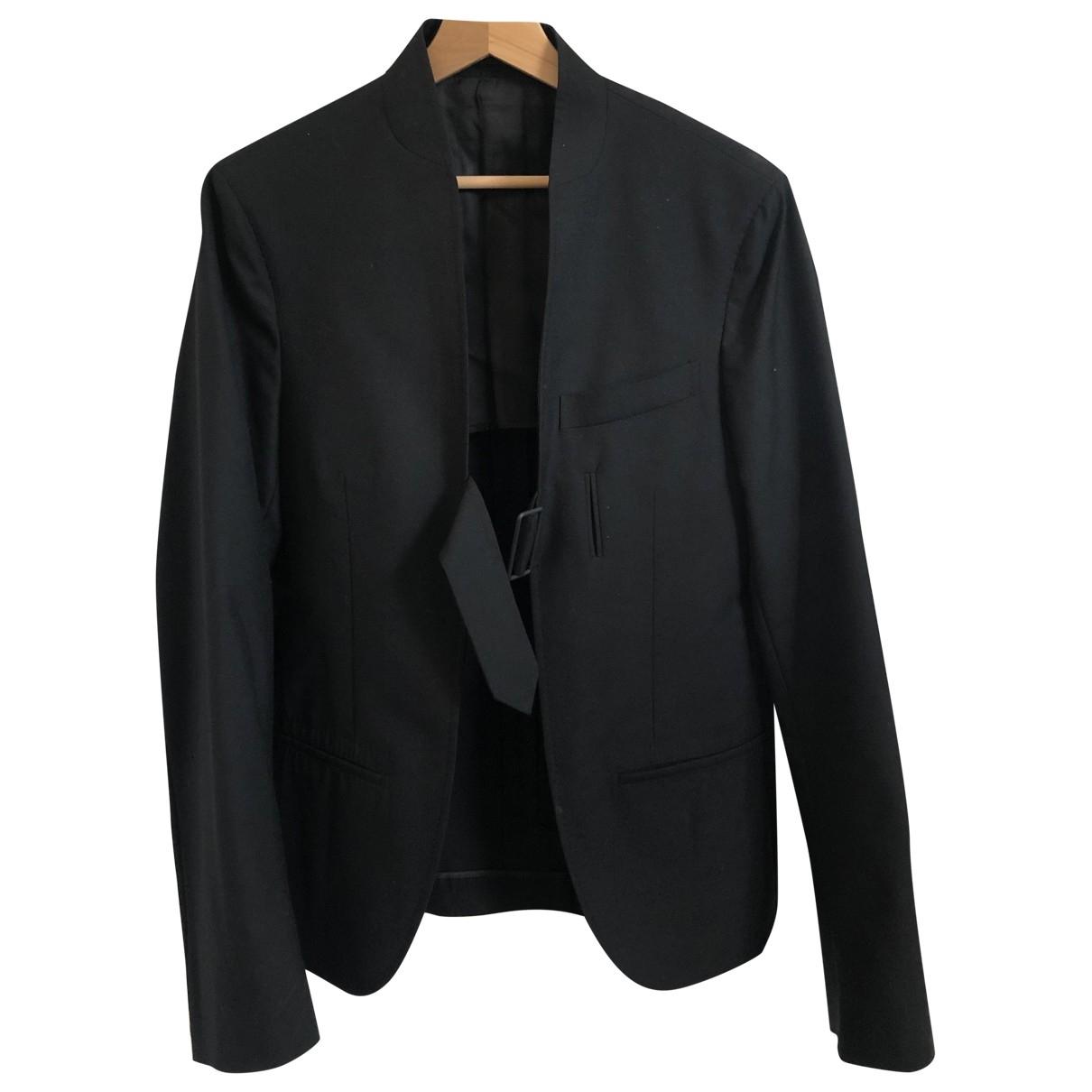Alexander Mcqueen \N Black Wool jacket  for Men 50 IT