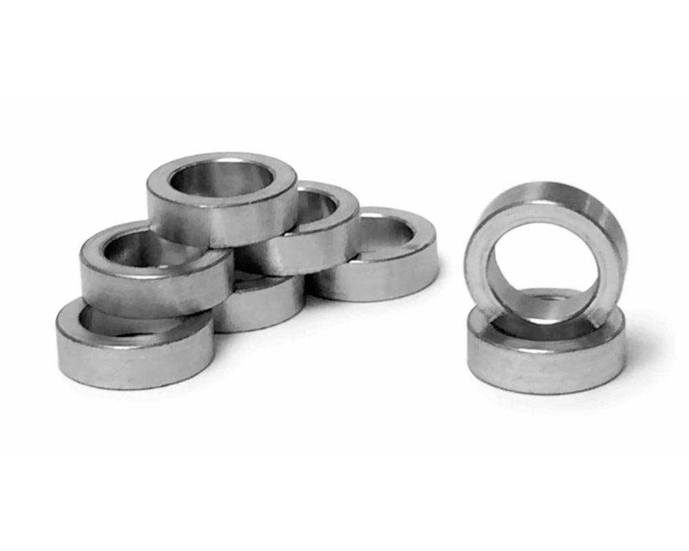 Steinjager J0031448 Bushing Style, Zinc Plated Rod End Spacers 0.510 Bore 1.500 Long 0.750 Diameter 8 Pack
