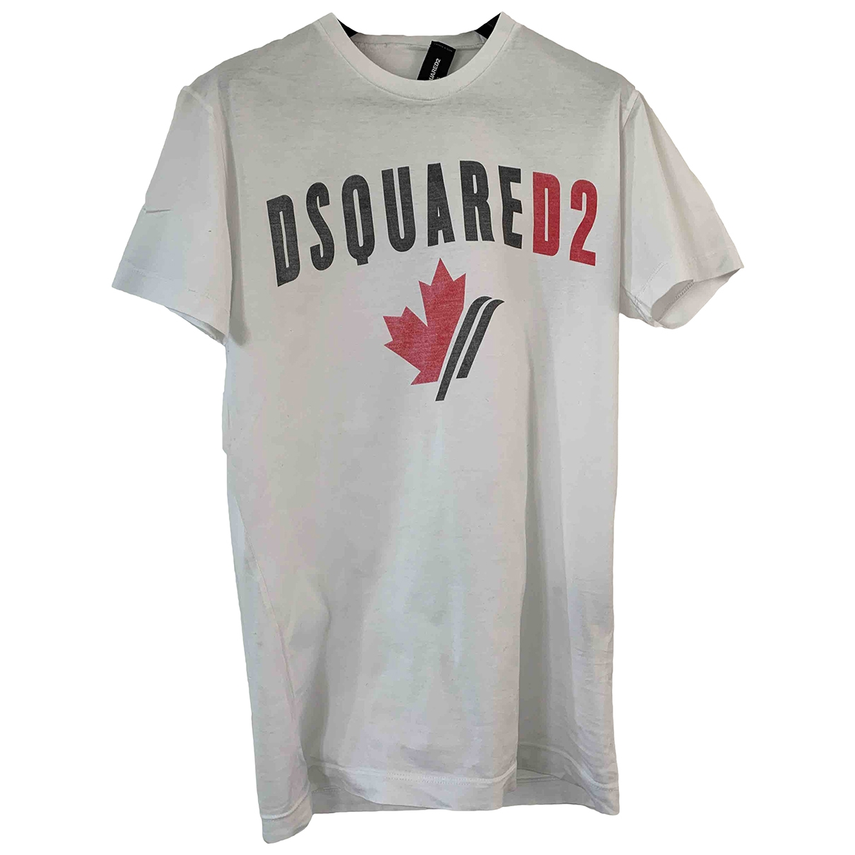 Dsquared2 \N White Cotton T-shirts for Men S International