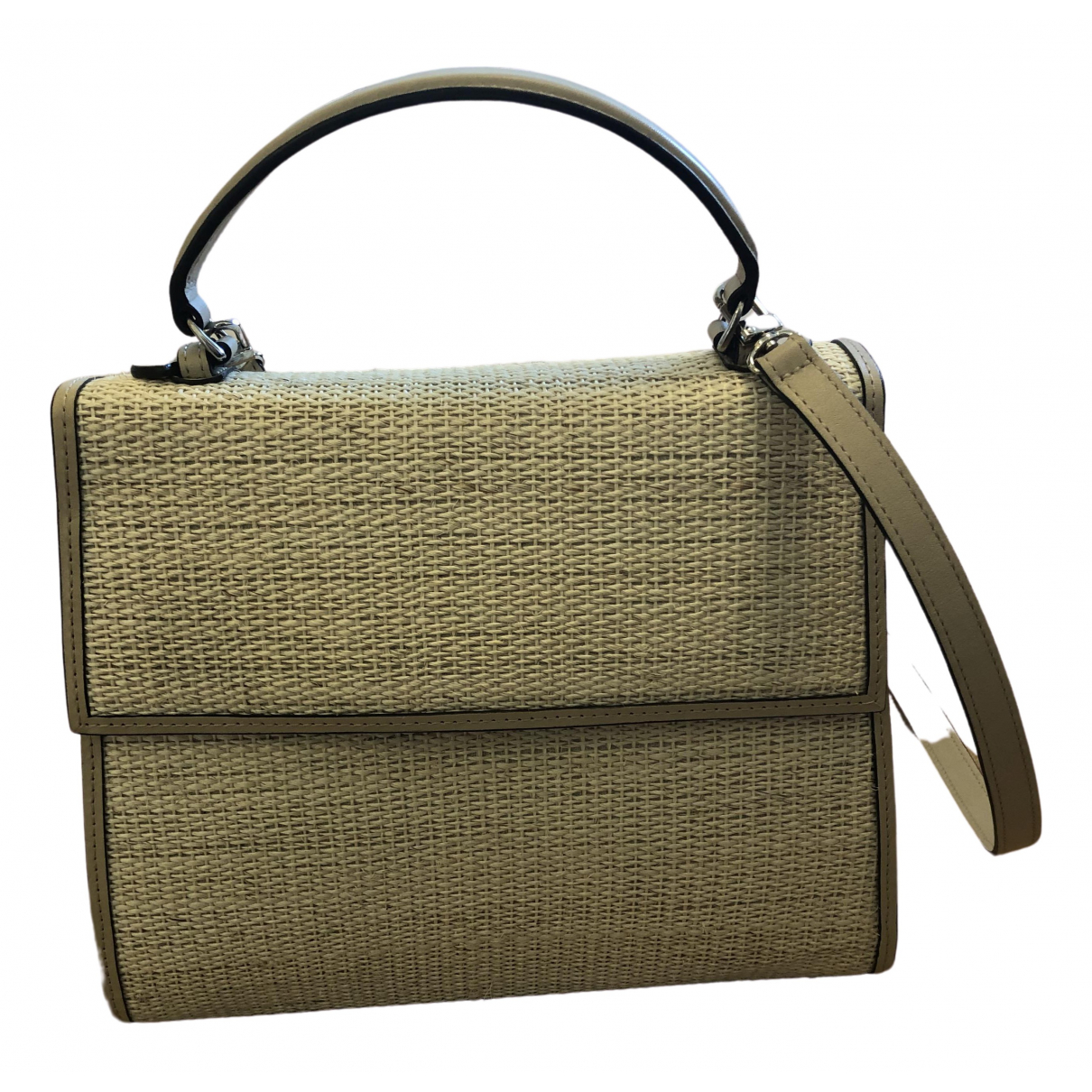 Hunting Season \N Beige Wicker handbag for Women \N