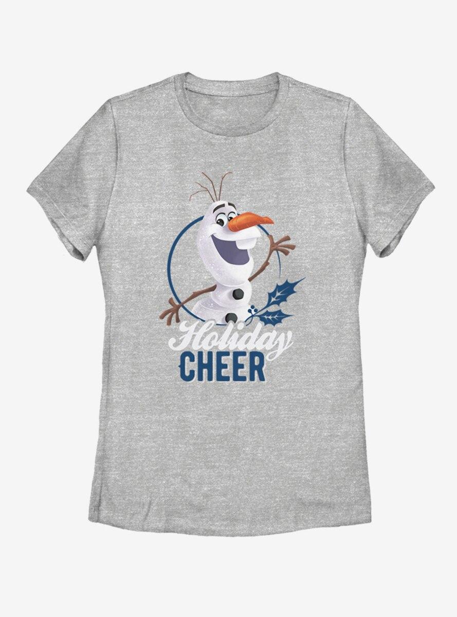 Disney Frozen Holiday Cheer Womens T-Shirt
