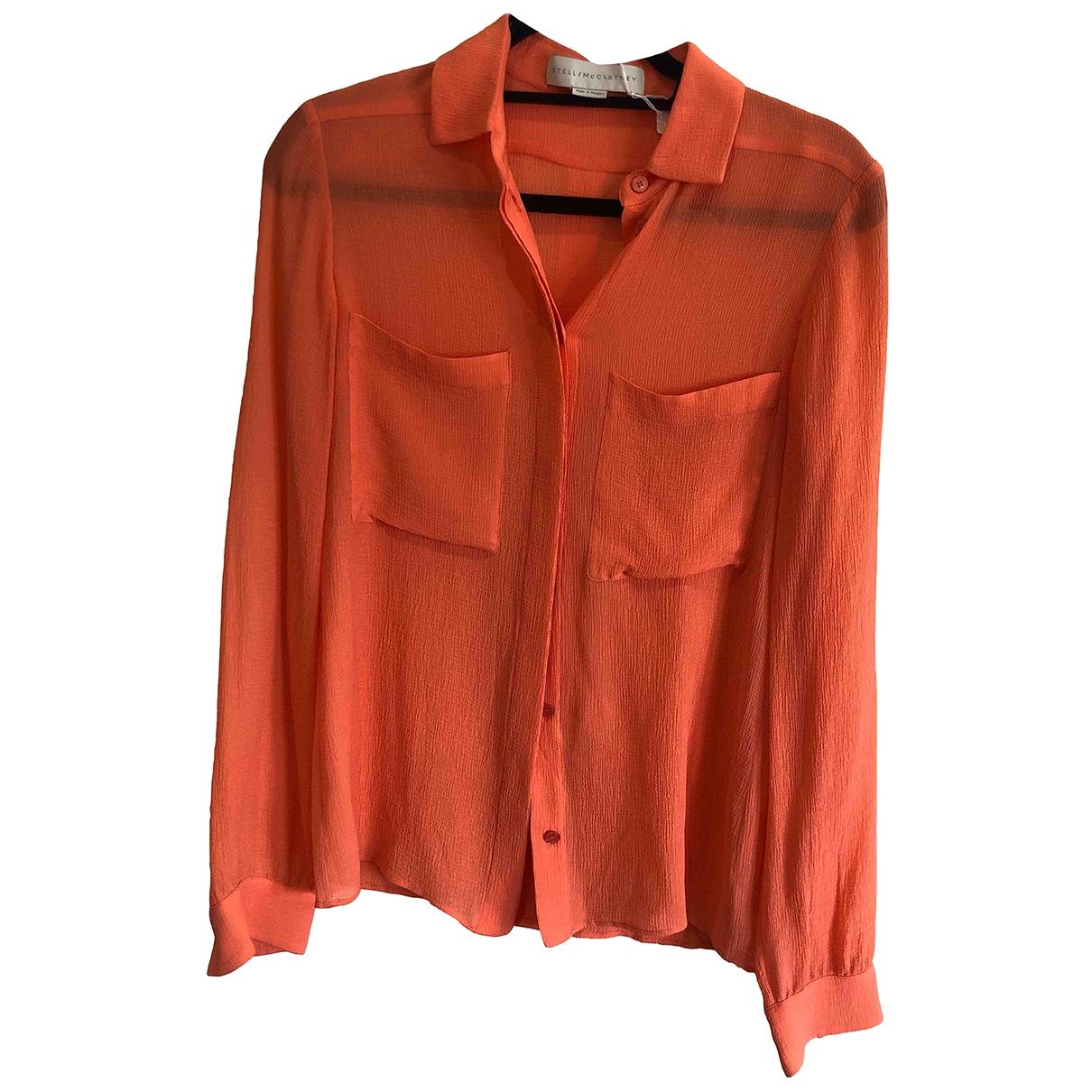 Stella Mccartney \N Pink Silk  top for Women 38 IT