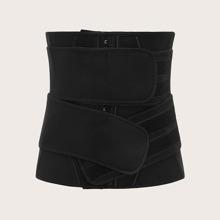 Korsett Shapewear mit Klettverschluss & Haken und Riemen