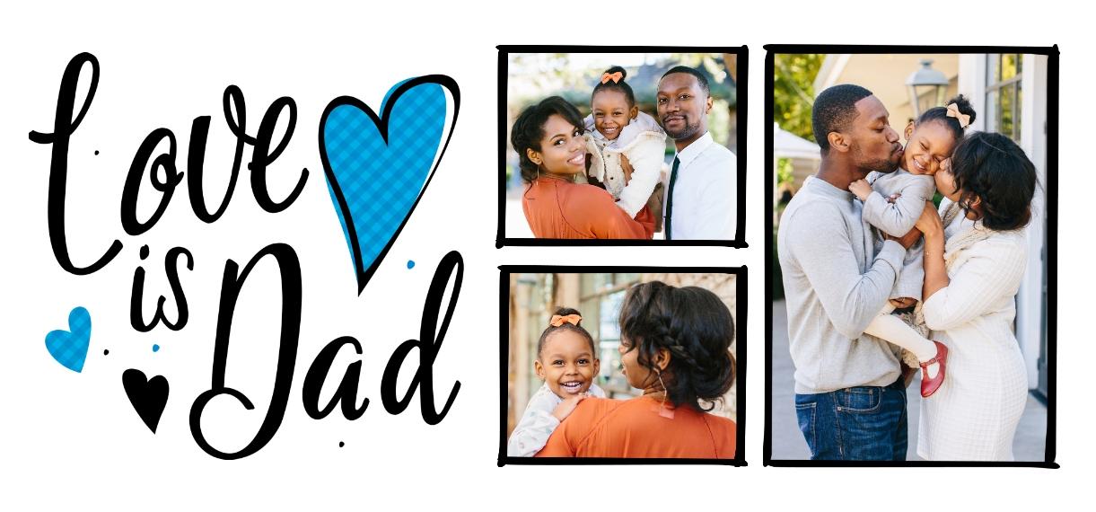 Family + Friends 11 oz. Navy Accent Mug, Gift -Family Love