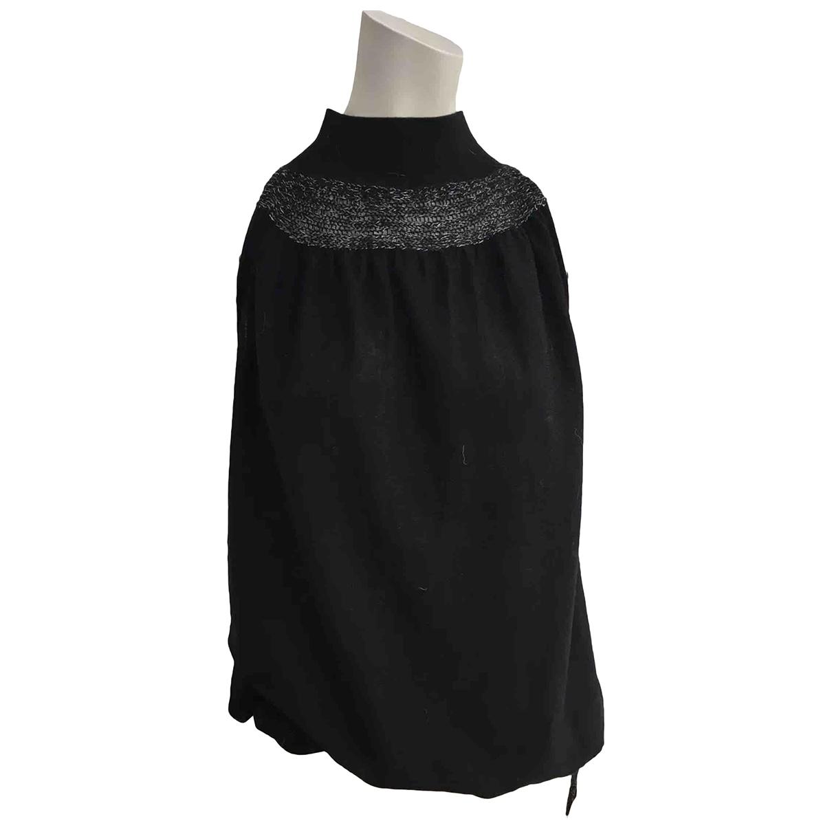 Anne Fontaine - Pull   pour femme en laine - noir