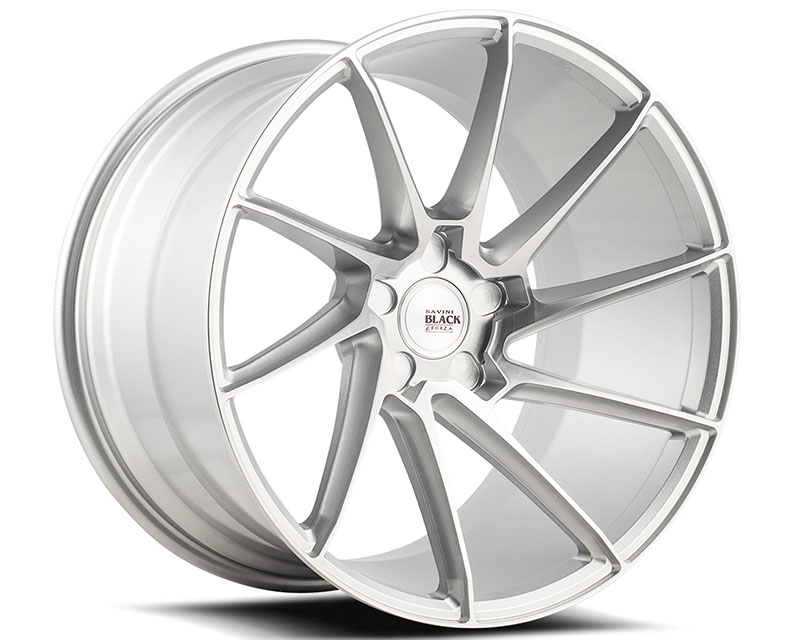 Savini BM15-20085547R3479R di Forza Brushed Silver BM15 Right Wheel 20x8.5 5x120.65 34mm