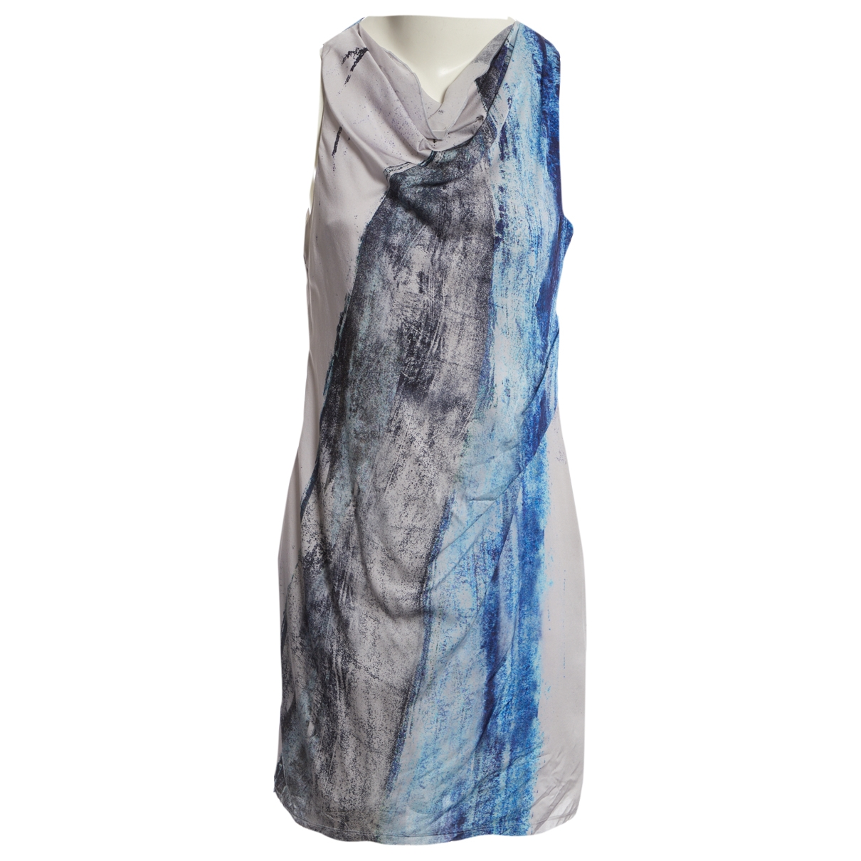 Mini vestido de Seda Helmut Lang