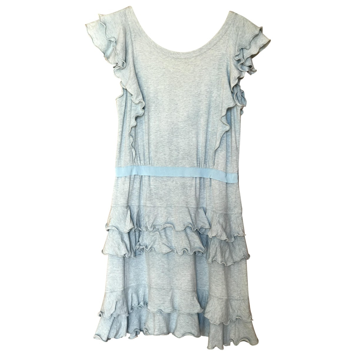 Marc By Marc Jacobs N Blue Cotton dress for Women M International