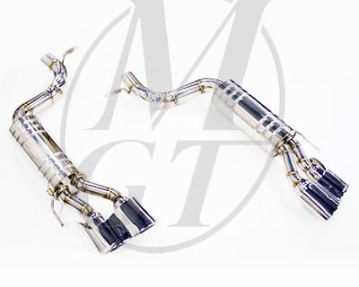 Meisterschaft ME0821217 Stainless GT Racing Exhaust 4x120x80mm Tips Mercedes-Benz CL55 / CL65 AMG 03-06